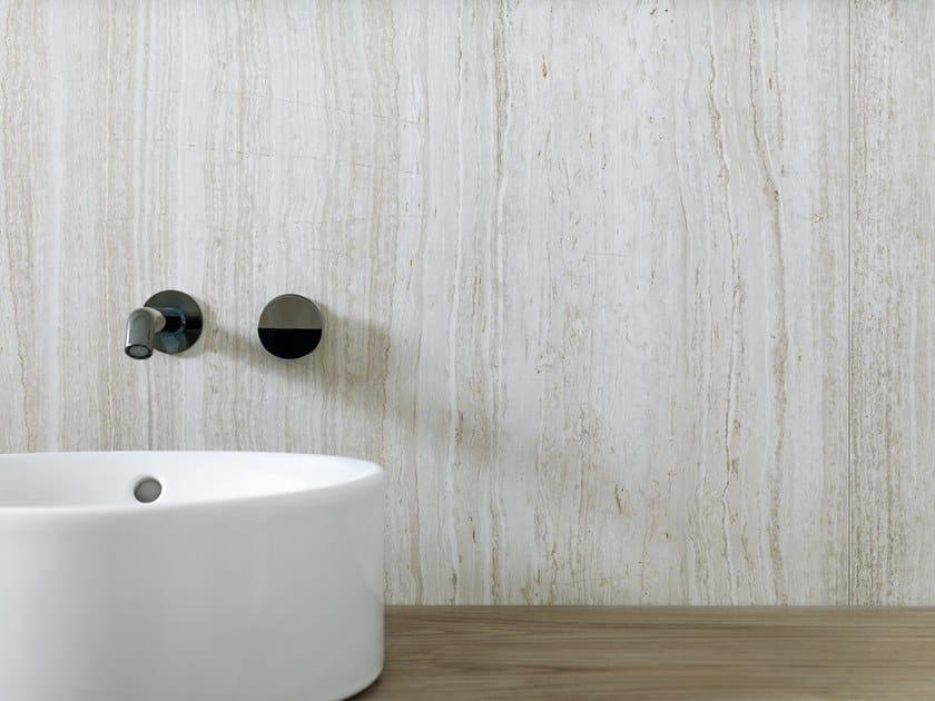 Porcelain stoneware wall/floor tiles with travertine effect XLIGHT PREMIUM HAVEN by URBATEK