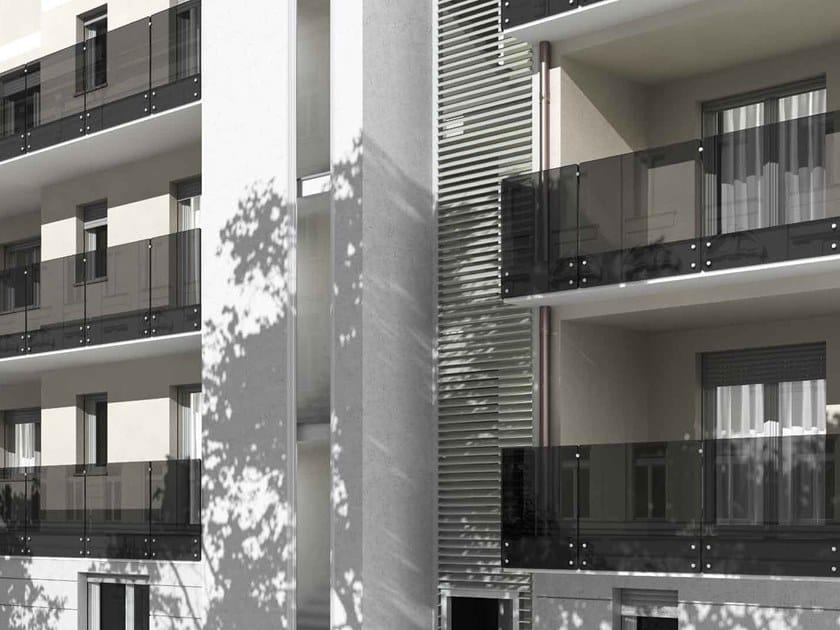 Glass balustrade XR | Balustrade by MOBIROLO