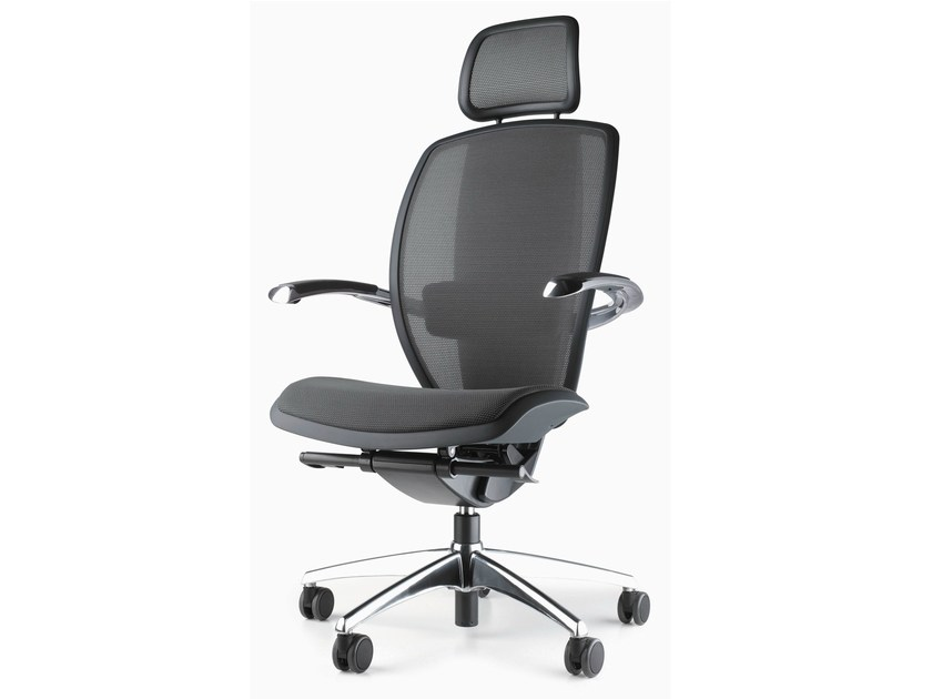 Swivel executive chair with headrest XTEN® | Executive chair with headrest by Ares Line