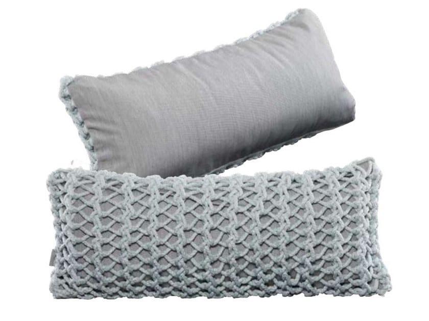 Rectangular polyester cushion XX I - ONE SIDED by Ilektras Croshade