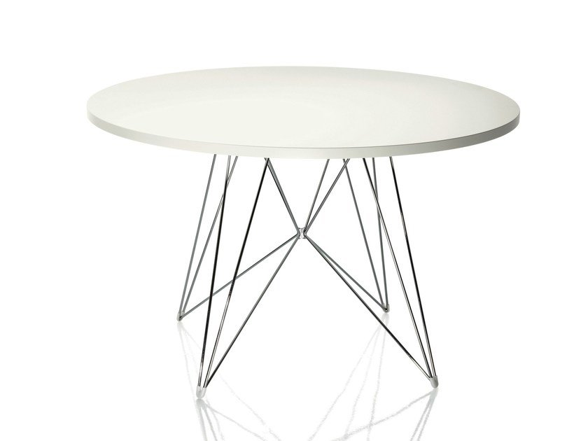 Round MDF table XZ3 | Round table by Magis
