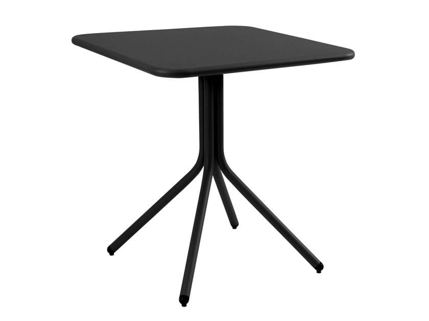 Folding square table YARD by emu
