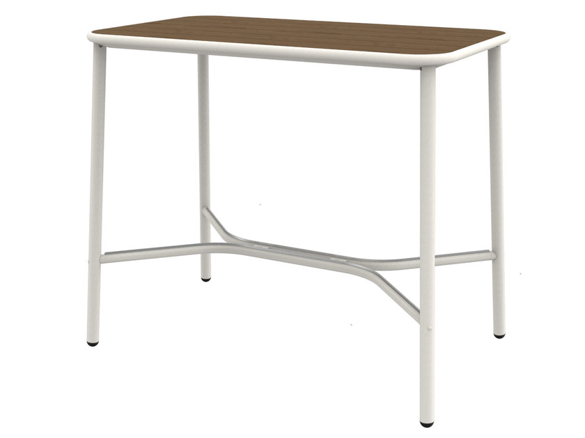 Ash high table YARD | Rectangular table by emu