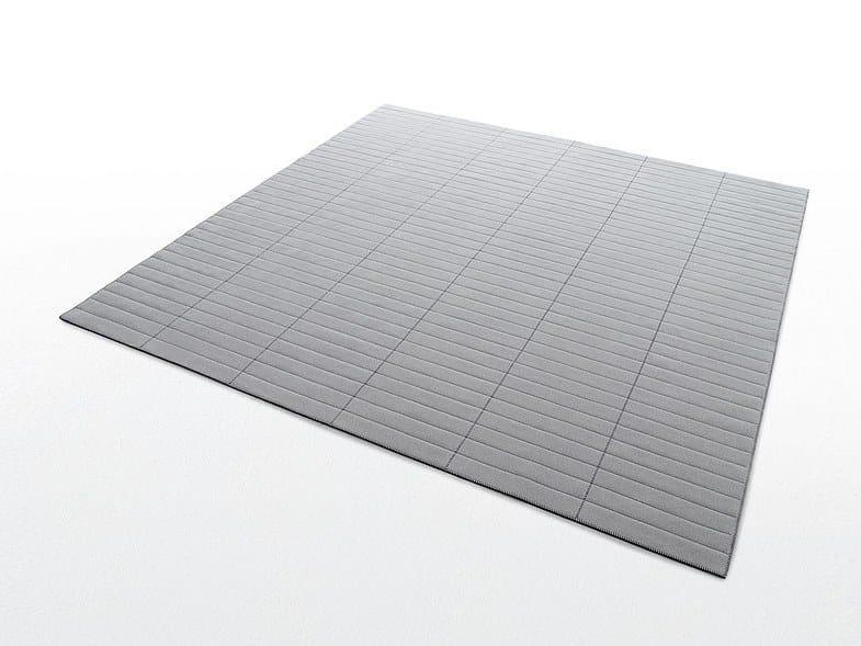 Square felt rug YARD | Square rug by paola lenti