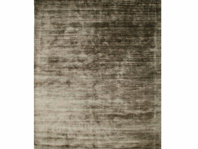 Viscose rug YASMIN PHPV-20 Dark Brown by Jaipur Rugs