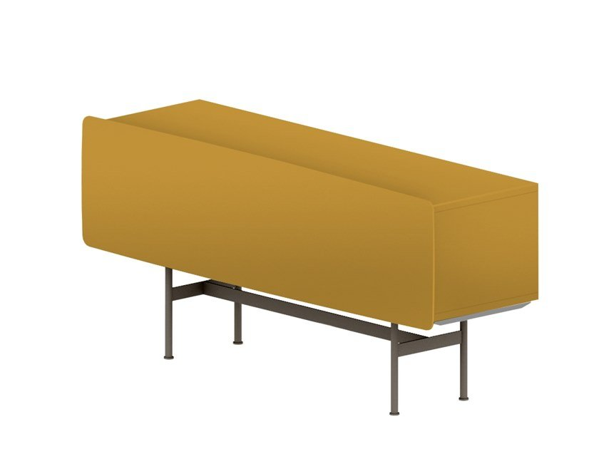 Modular lacquered sideboard YEE - COMPOSITION A by SP01
