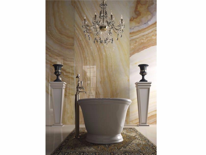 Porcelain stoneware wall/floor tiles YELLOW ONYX by GranitiFiandre