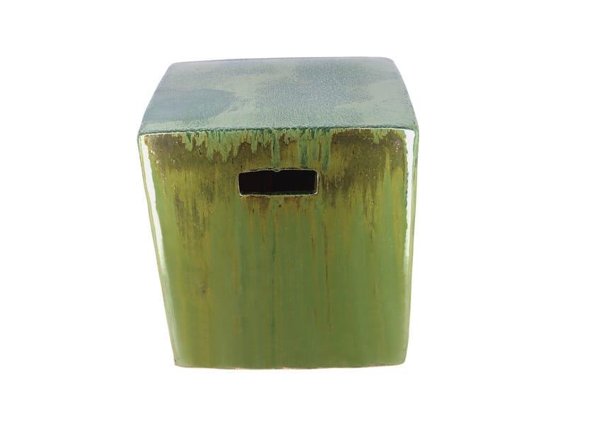 Ceramic stool YIXING JARDIN by CFOC