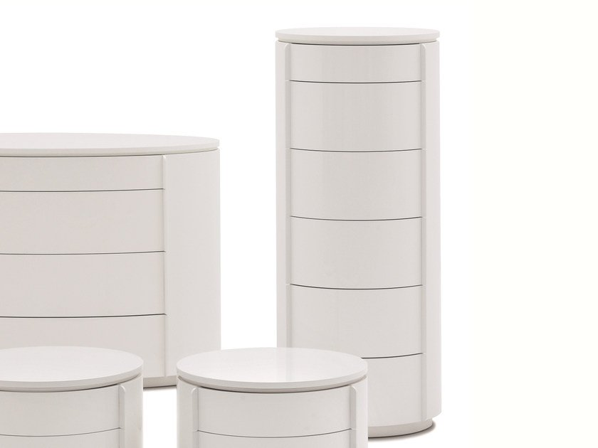Free standing chest of drawers YNDRO | Chest of drawers by Silenia