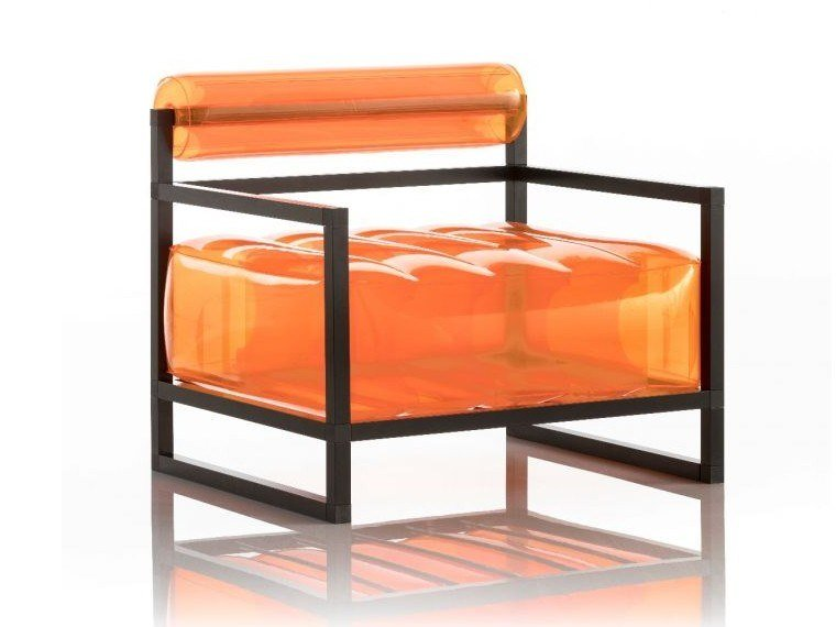 Inflatable armchair with armrests YOKO | Inflatable armchair by MOJOW