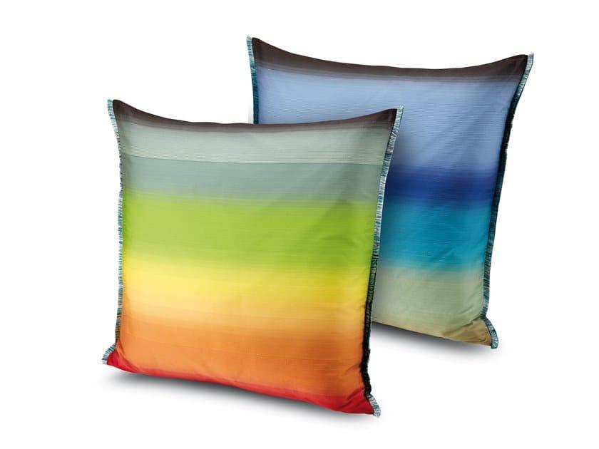 Cuscino in tessuto jacquard a grandi sfumature brillanti YONAGO by MissoniHome