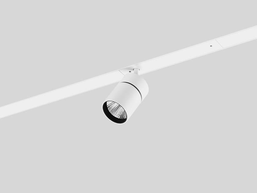 Illuminazione a binario in alluminio pressofuso YORI CHANNEL by Reggiani