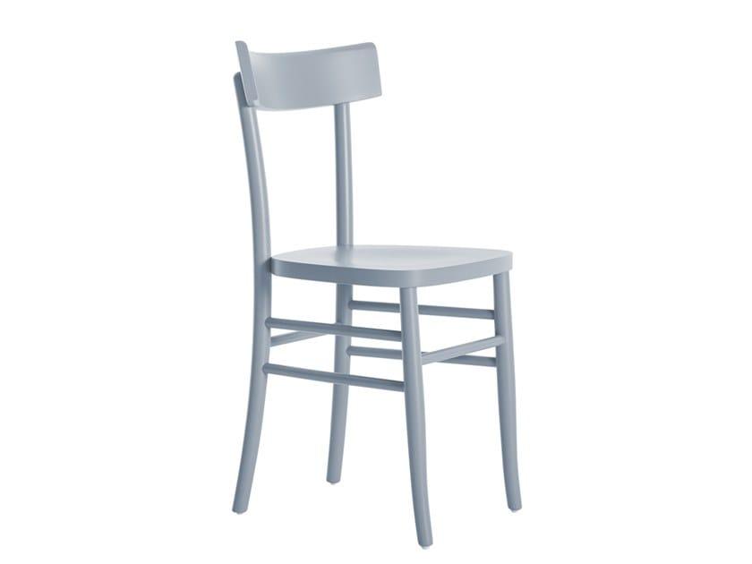 Beech chair YORK NEW 446A.u2 by Palma