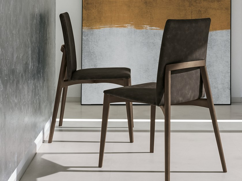 Upholstered chair YORK by Gruppo Tomasella