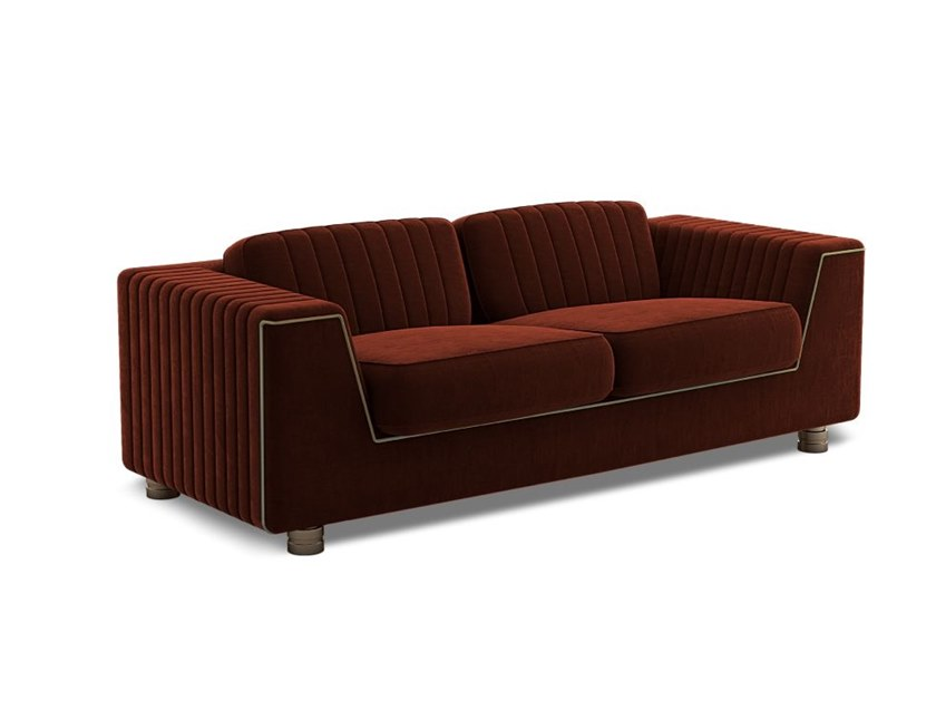 2 seater fabric sofa YOSEMITE | 2 seater sofa by Porustudio