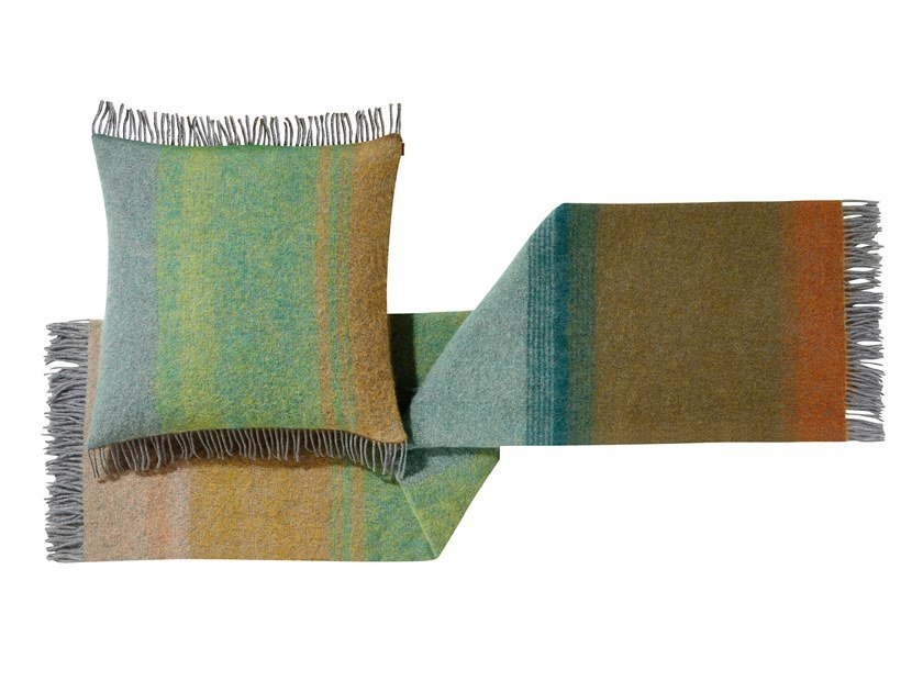 Plaid jacquard in mohair YOSHI by MissoniHome