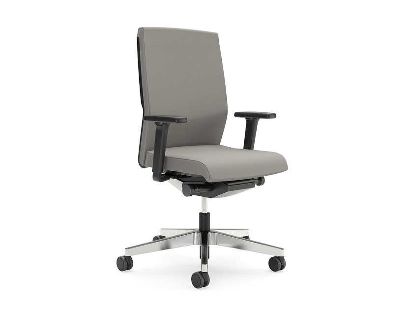 Fabric task chair with casters YOSTER IS3 152Y by Interstuhl