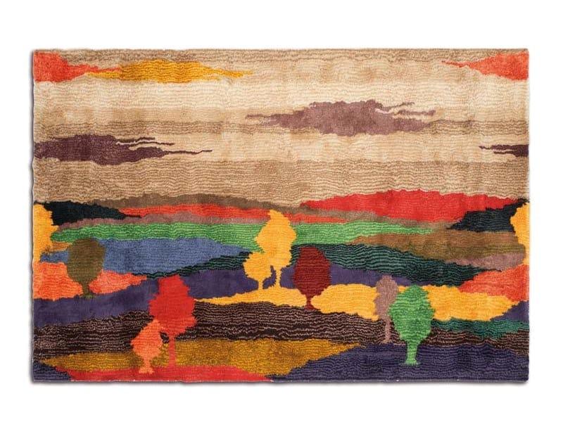 Tappeto in lana a pelo lungo YPSILANTI by MissoniHome