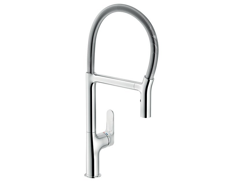 Single handle kitchen mixer tap with swivel spout YPSILON by Nobili Rubinetterie