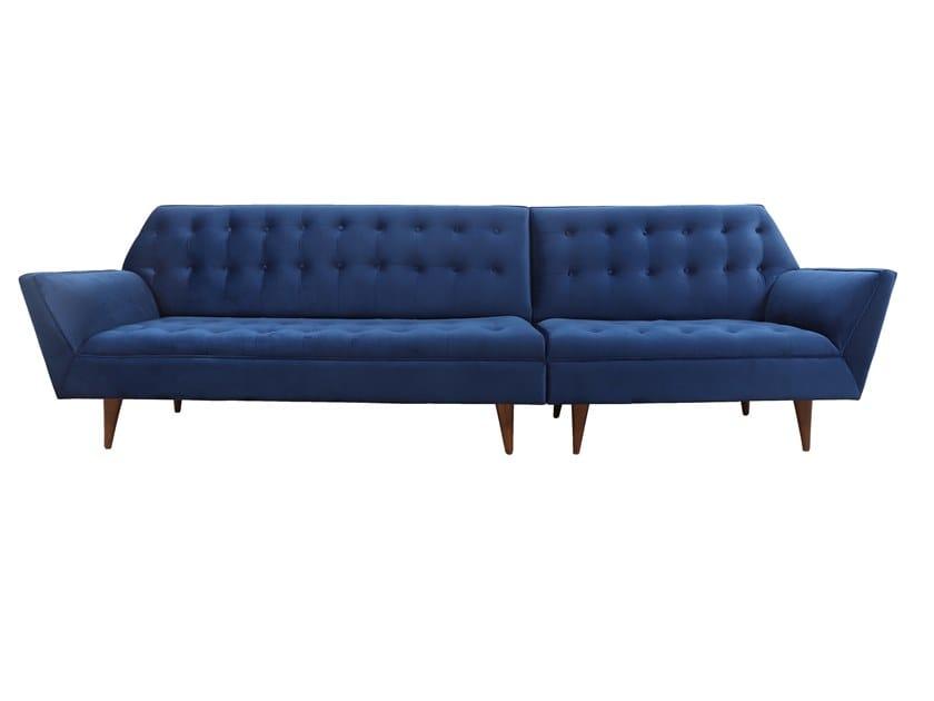 5 seater sectional fabric sofa YUKTA | 5 seater sofa by ALANKARAM