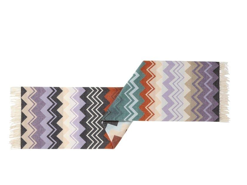 Plaid jacquard multicolor in lana YVO by MissoniHome