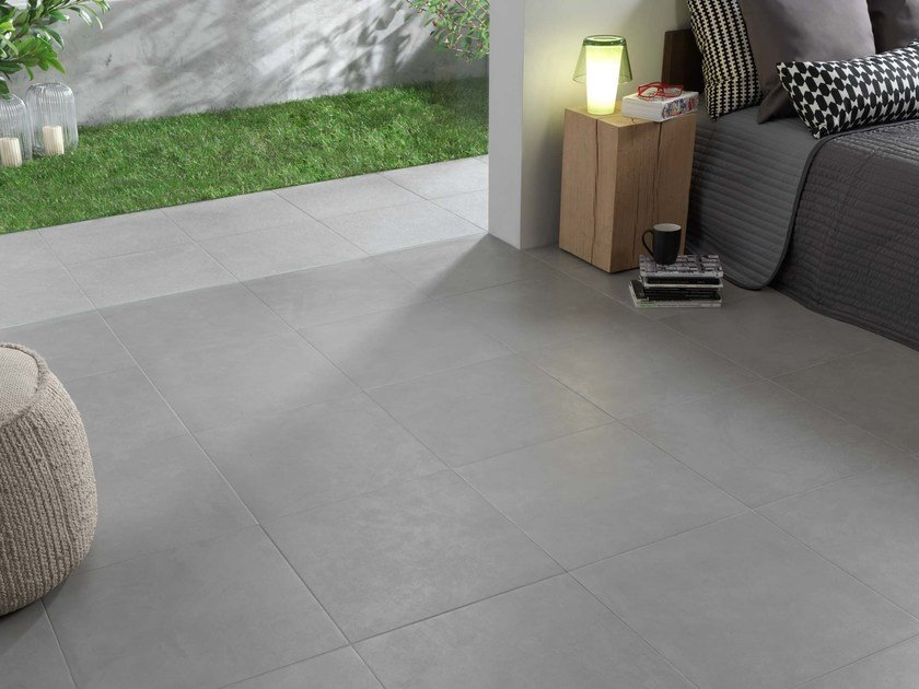 Wallfloor Tiles With Concrete Effect Zen Bton By Novoceram