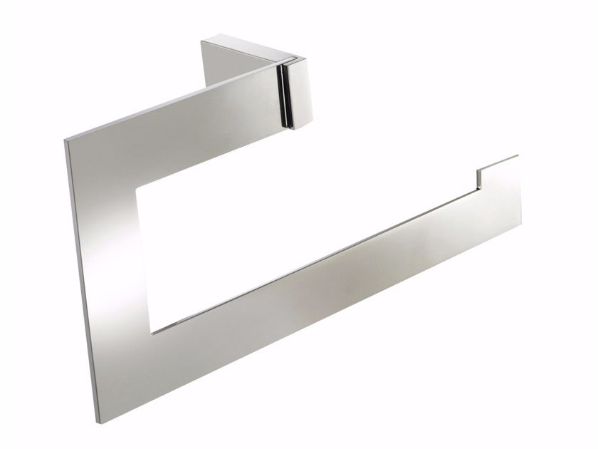 Chromed brass towel ring ESSENZA | Towel ring by LINEAG