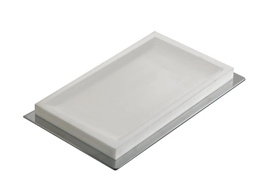 Countertop resin soap dish ESSENZA | Countertop soap dish by LINEAG