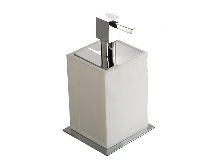 Resin liquid soap dispenser ESSENZA | Liquid soap dispenser by LINEAG