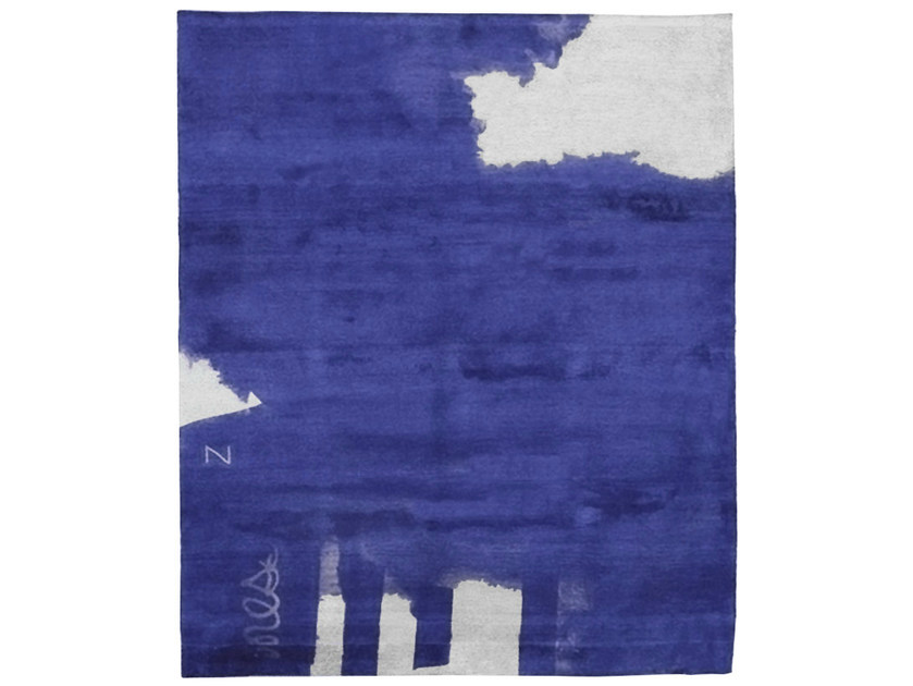 Handmade rectangular rug Z3 ANOTHER WORLD by HENZEL STUDIO