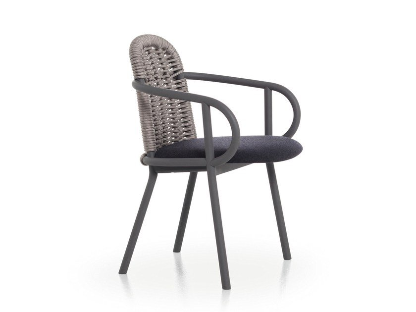 Ash chair with armrests ZANTILAM 22 by Very Wood