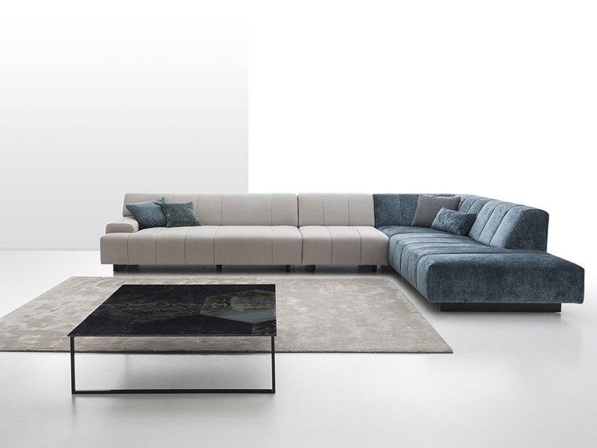 Corner sectional sofa ZARA DEEP | Corner sofa by NICOLINE