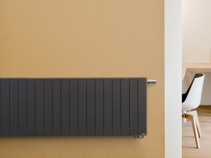 Vasco Zaros Radiator.Horizontal Wall Mounted Aluminium Decorative Radiator