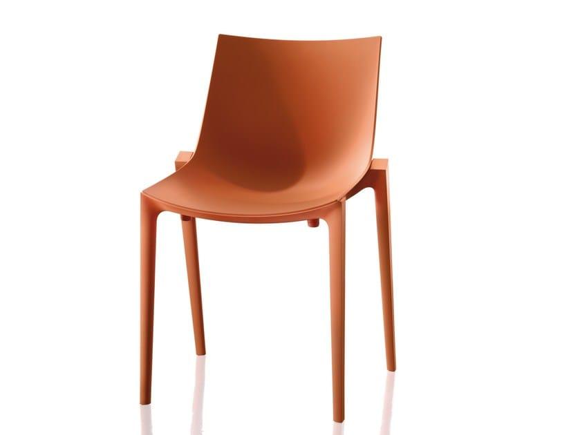 Polypropylene chair ZARTAN BASIC by Magis