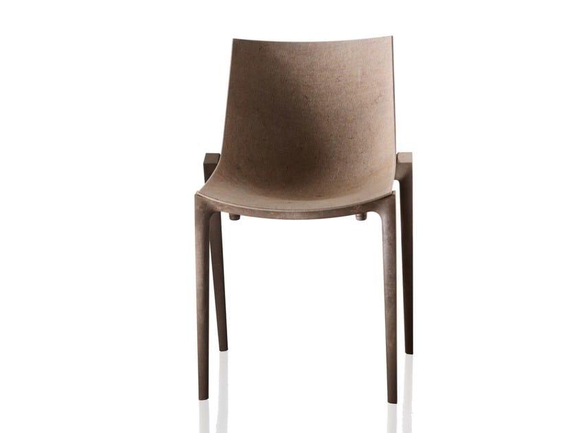 Polypropylene chair ZARTAN ECO by Magis