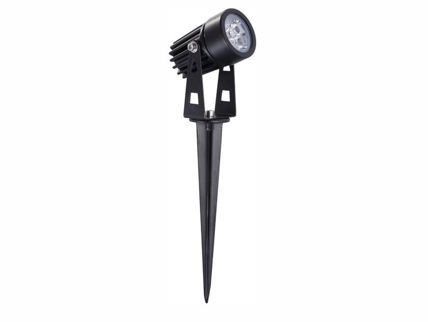 Walkover light adjustable aluminium Outdoor floodlight ZAS by BENEITO FAURE