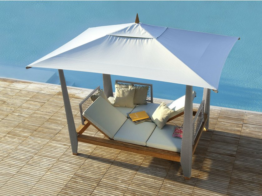 Double recliner canopy garden bed ZAYO | Garden bed by Les jardins