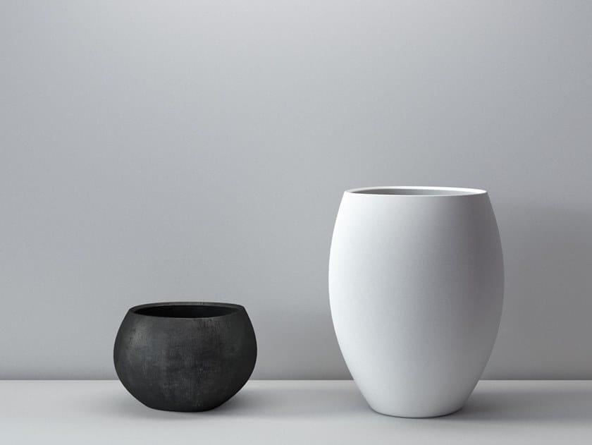 Cement vase ZAZEN by Forma&Cemento