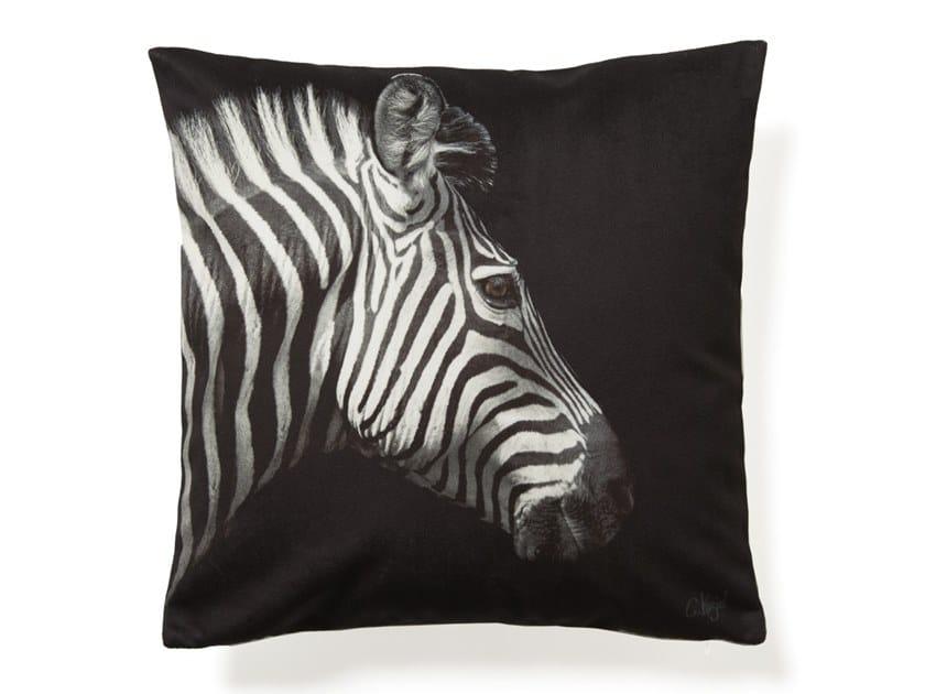 Square cushion ZEBRA by Koziel