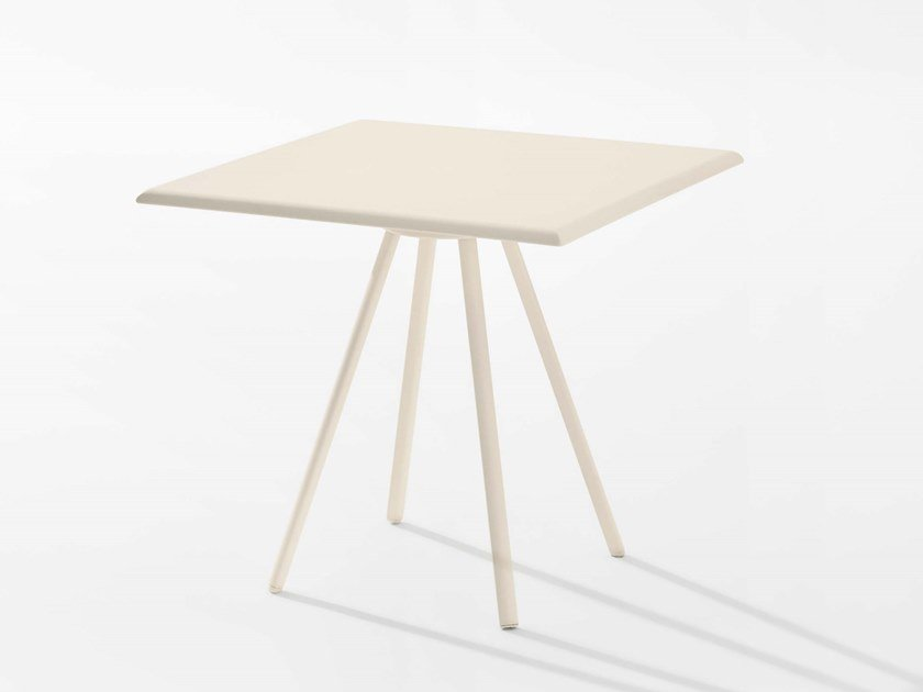 Square garden table ZEBRA | Square table by FAST