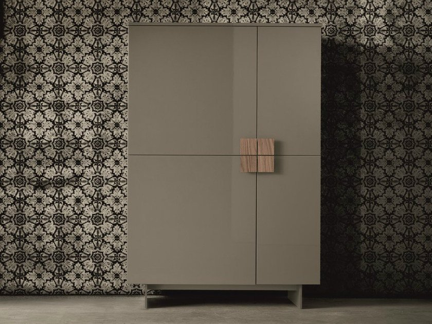 Lacquered highboard with doors ZEN | Highboard with doors by Dall'Agnese