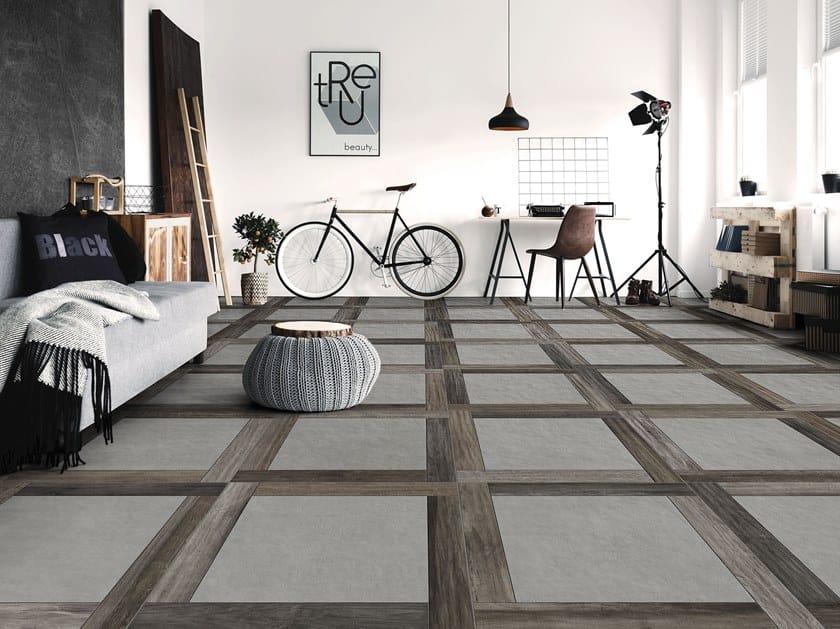 Porcelain wall/floor tiles with wood effect ZEN by ITT Ceramic