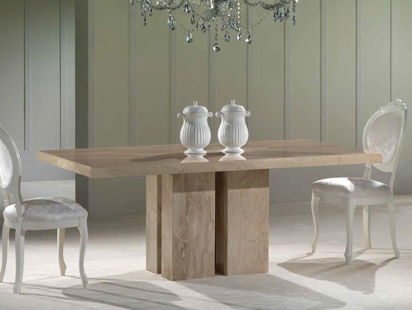 Rectangular marble table ZEN | Rectangular table by International Marmi