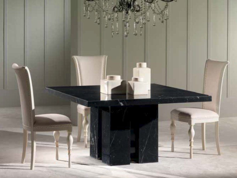 Square marble table ZEN | Square table by International Marmi