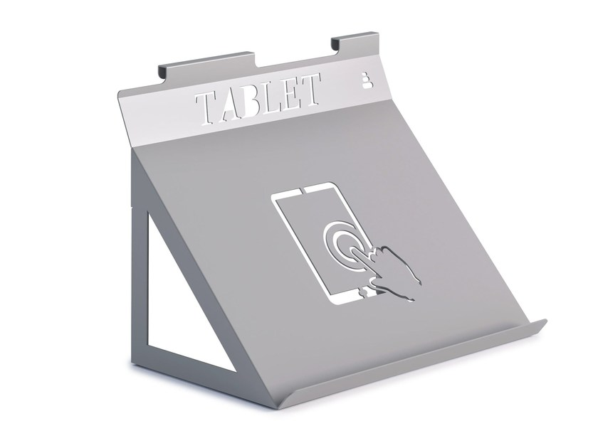 Wall mounted Tablet support ZEN | Tablet support by Steelbox by Metalway