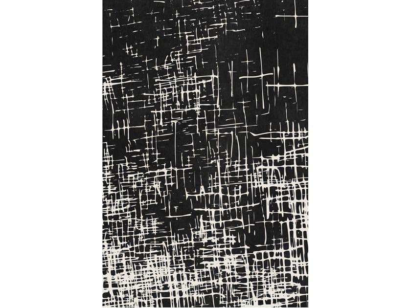 Tappeto a motivi rettangolare in lana merino ZENA by Barcelona Rugs