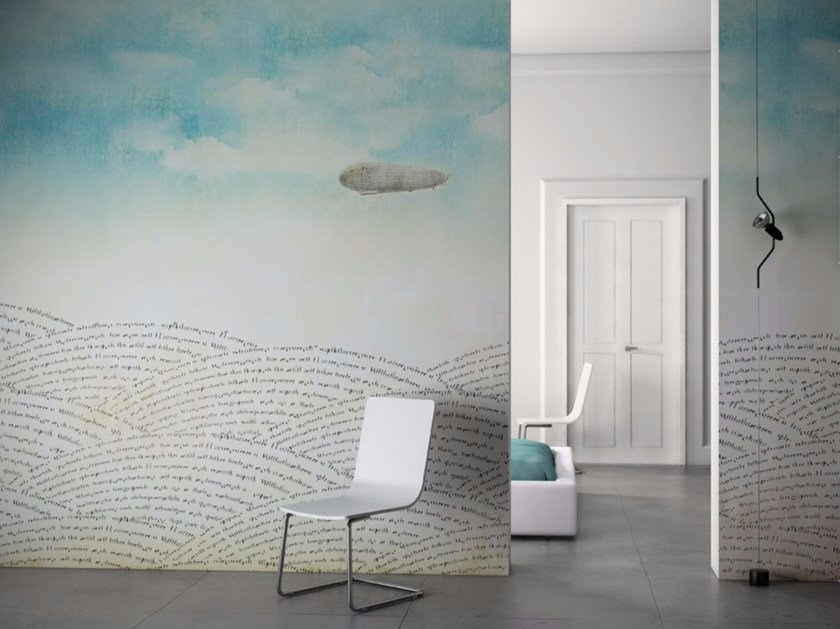 Washable vinyl wallpaper ZEPPELIN by GLAMORA