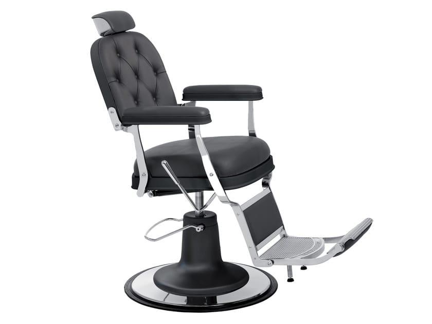 Poltrona da barbiere zerbini collezione bohème by maletti design