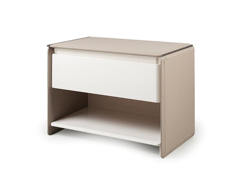 Bedside Table//Cabinet//Bedside Console//Shelf Milano