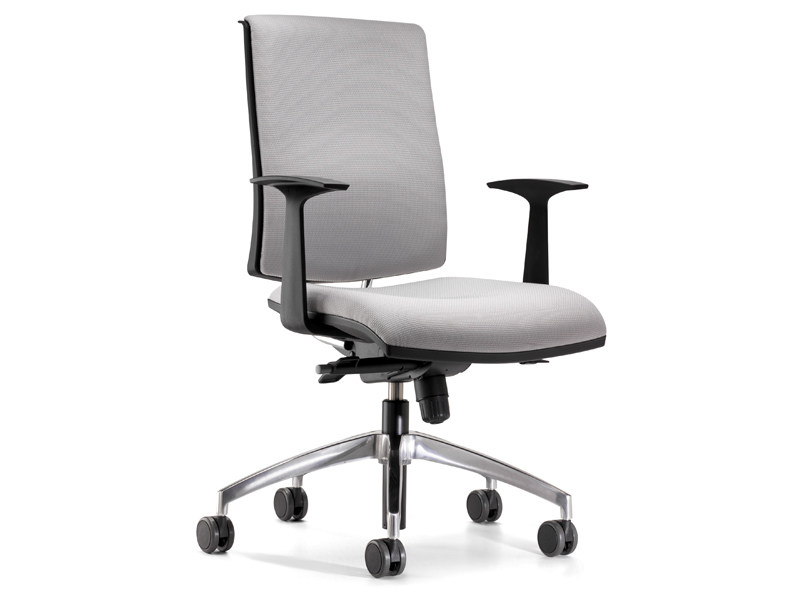 Swivel fabric task chair with casters ZERO7 | Fabric task chair by Ares Line